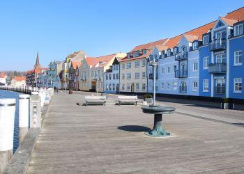 Der Sonderborger Hafen in Dänemark