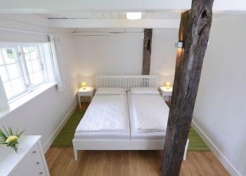 Schlafzimmer (Fischerhaus-Wohnung I)